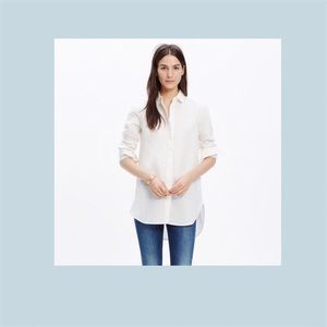 Tops - Madewell Linen Clean Placket Shirt